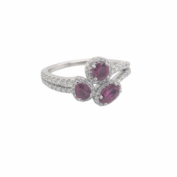 14K WG Next Generation Ruby & Diamond Fashion Ring Skaneateles Jewelry Skaneateles, NY