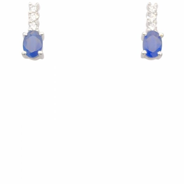 Next Generation Sapphire & Diamond Earrings Skaneateles Jewelry Skaneateles, NY
