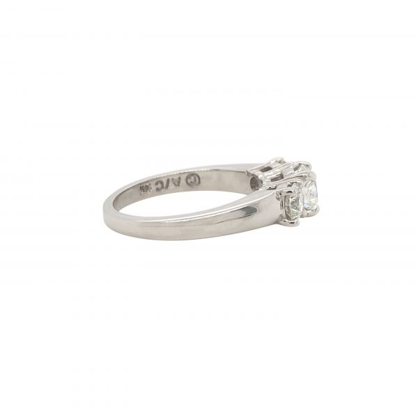 Next Generation Diamond 3 Stone Engagement Ring Image 3  ,