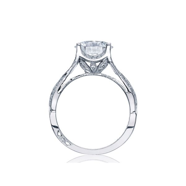 Tacori Ribbon Round Engagement Ring Image 2 Skaneateles Jewelry Skaneateles, NY