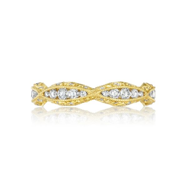 Tacori Classic Crescent Eternity Wedding Band Image 3 Skaneateles Jewelry Skaneateles, NY