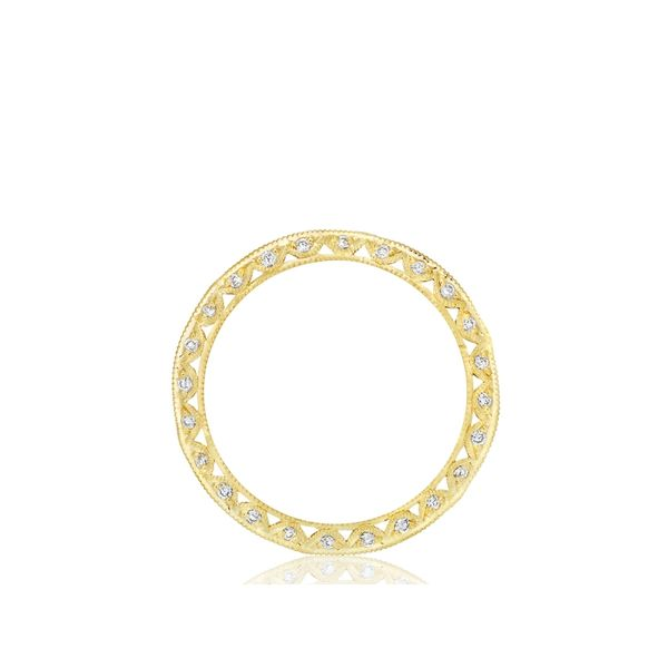 Tacori Classic Crescent Eternity Wedding Band Image 4 Skaneateles Jewelry Skaneateles, NY
