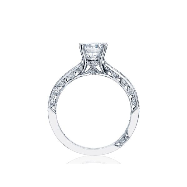 Tacori Classic Crescent Round Engagement Ring Image 2 Skaneateles Jewelry Skaneateles, NY