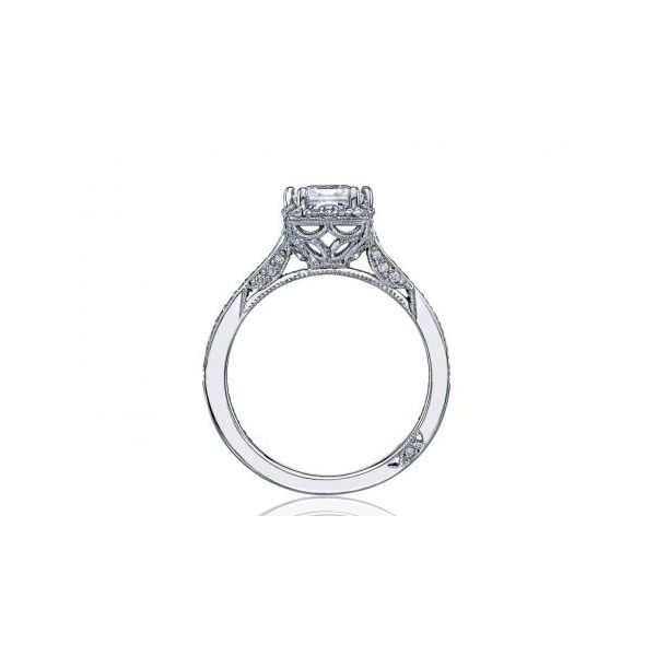 Tacori Princess Dantela Engagement Ring Image 2  ,