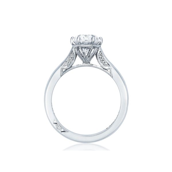Tacori Simply Tacori Oval Engagement Ring Image 2  ,