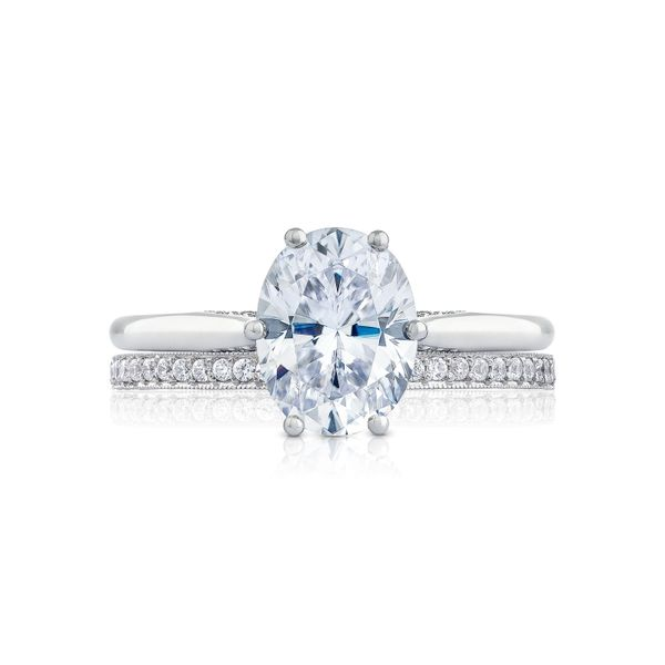 Tacori Simply Tacori Oval Engagement Ring Image 3  ,