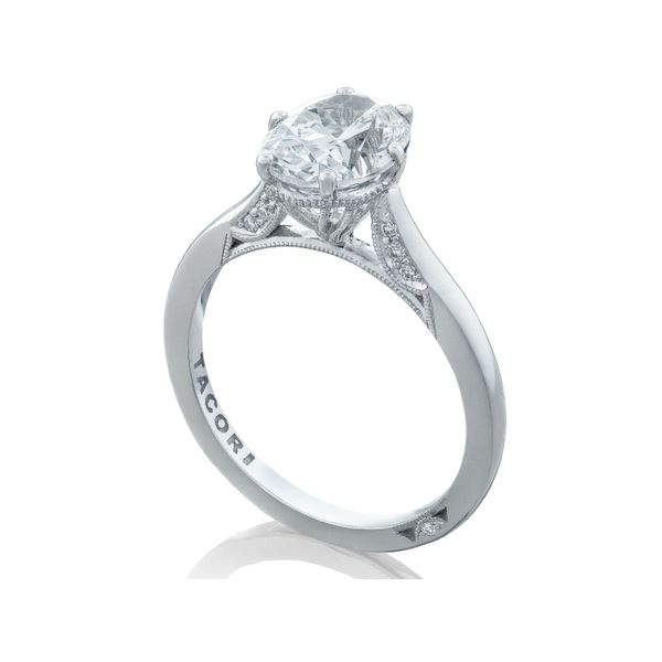 Tacori Simply Tacori Oval Engagement Ring Image 4  ,