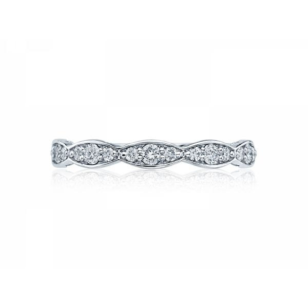 Tacori Sculpted Crescent Wedding Band Skaneateles Jewelry Skaneateles, NY