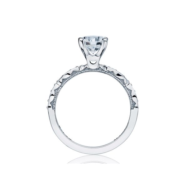 Tacori Sculpted Crescent Round Engagement Ring Image 2 Skaneateles Jewelry Skaneateles, NY