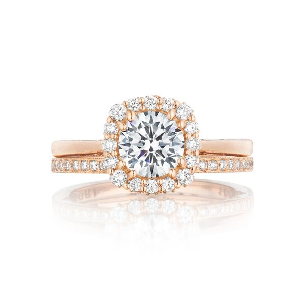 Tacori Full Bloom Round Engagement Ring Image 3 Skaneateles Jewelry Skaneateles, NY