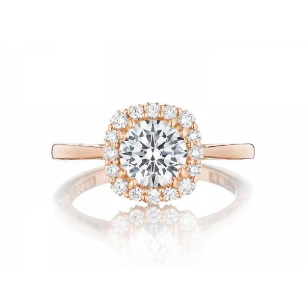 Tacori Full Bloom Round Engagement Ring Skaneateles Jewelry Skaneateles, NY