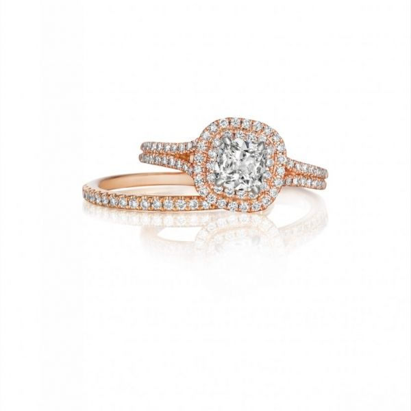 Henri Daussi Engagement Ring Image 2  ,