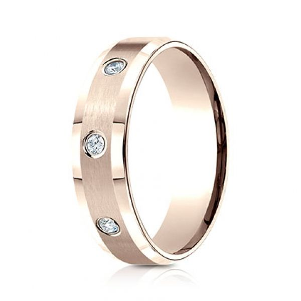 Next Generation Diamond Comfort Fit Wedding Band Image 4 Skaneateles Jewelry Skaneateles, NY