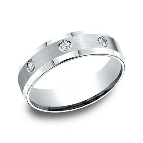 Next Generation Diamond Comfort Fit Wedding Band Image 3 Skaneateles Jewelry Skaneateles, NY