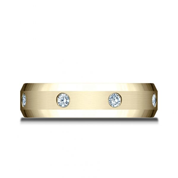 Next Generation Diamond Comfort Fit Wedding Band Image 2 Skaneateles Jewelry Skaneateles, NY