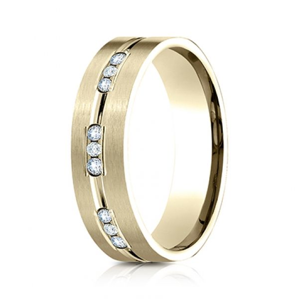 Next Generation Diamond Comfort Fit Wedding Band Image 4  ,