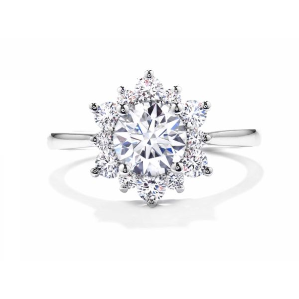 Hearts on Fire Delight Lady Di Engagement Ring Skaneateles Jewelry Skaneateles, NY