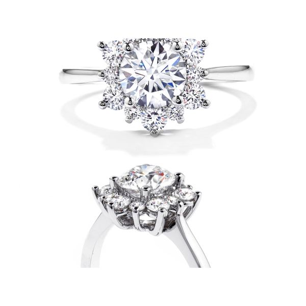 Hearts on Fire Delight Lady Di Engagement Ring Image 2  ,