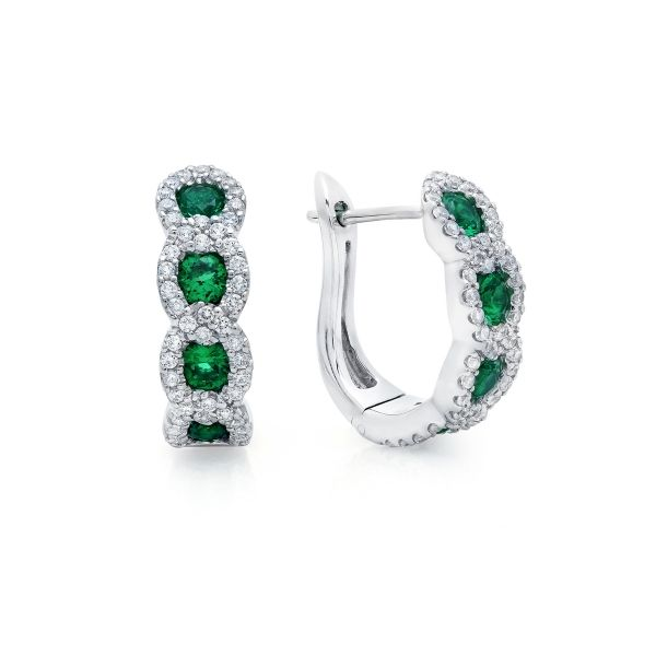 Next Generation Emerald Earrings Skaneateles Jewelry Skaneateles, NY