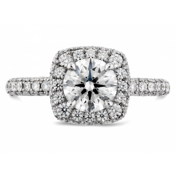 Hearts on Fire Euphoria Pave Engagement Ring Skaneateles Jewelry Skaneateles, NY
