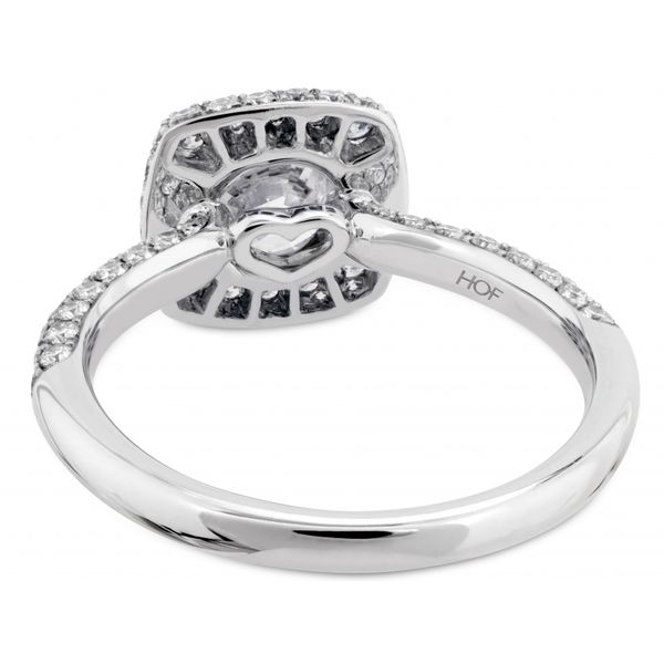 Hearts on Fire Euphoria Pave Engagement Ring Image 3  ,