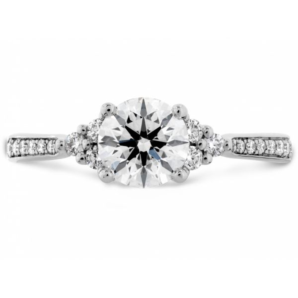 Hearts on Fire Felicity Queen Anne Engagement Ring  Skaneateles Jewelry Skaneateles, NY