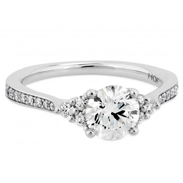Hearts on Fire Felicity Queen Anne Engagement Ring  Image 2 Skaneateles Jewelry Skaneateles, NY
