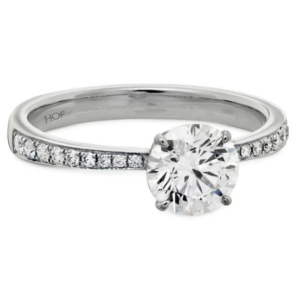 Hearts on Fire Signature Engagement Ring Image 2 Skaneateles Jewelry Skaneateles, NY