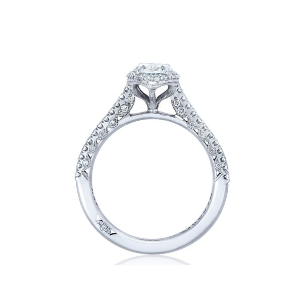 Tacori Petite Crescent Oval Engagement Ring Image 2 Skaneateles Jewelry Skaneateles, NY