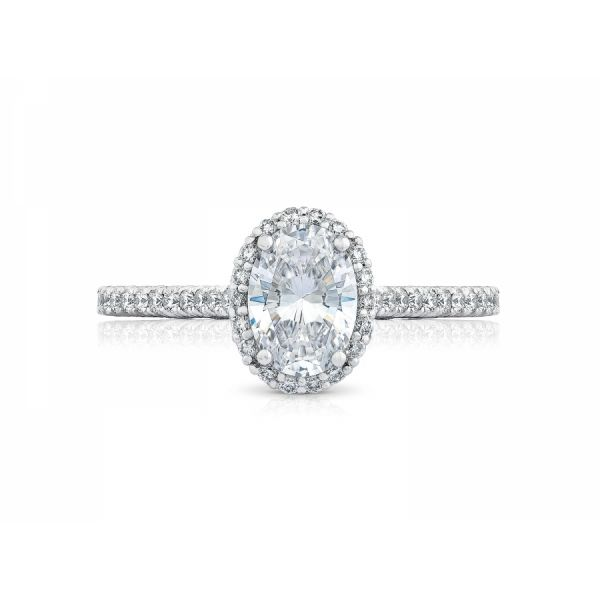 Tacori Petite Crescent Oval Engagement Ring Skaneateles Jewelry Skaneateles, NY