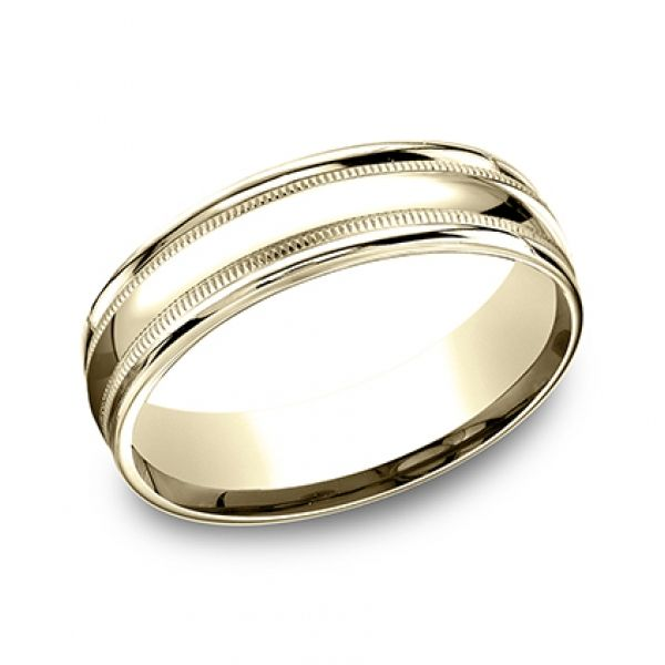 Next Generation Comfort Fit Wedding Band Image 4 Skaneateles Jewelry Skaneateles, NY