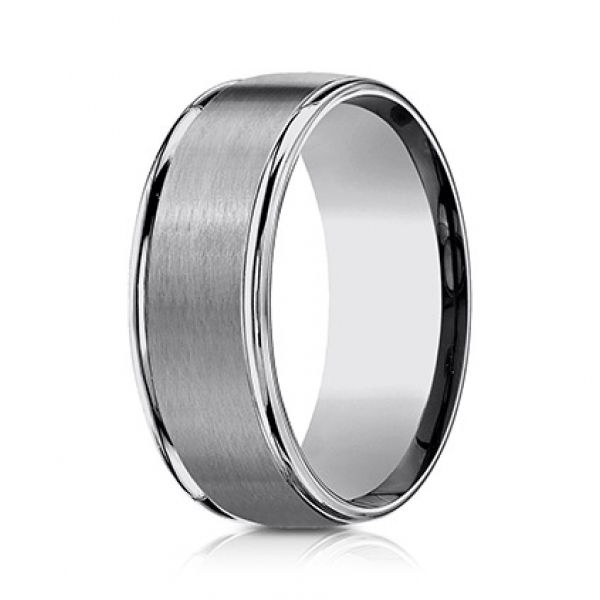 Next Generation Tungsten Comfort Fit Wedding Band Image 2  ,