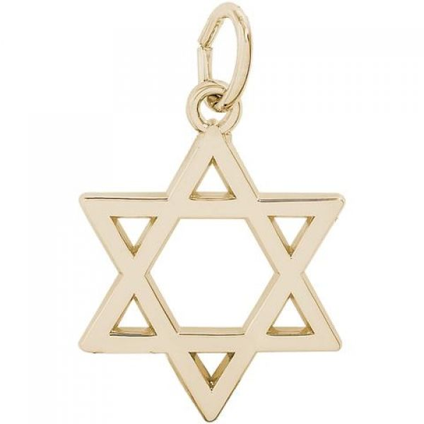 Rembrandt Star of David Charm Image 2 Skaneateles Jewelry Skaneateles, NY