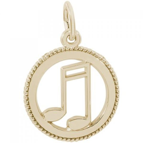 Rembrandt Music Note Disc Image 2 Skaneateles Jewelry Skaneateles, NY
