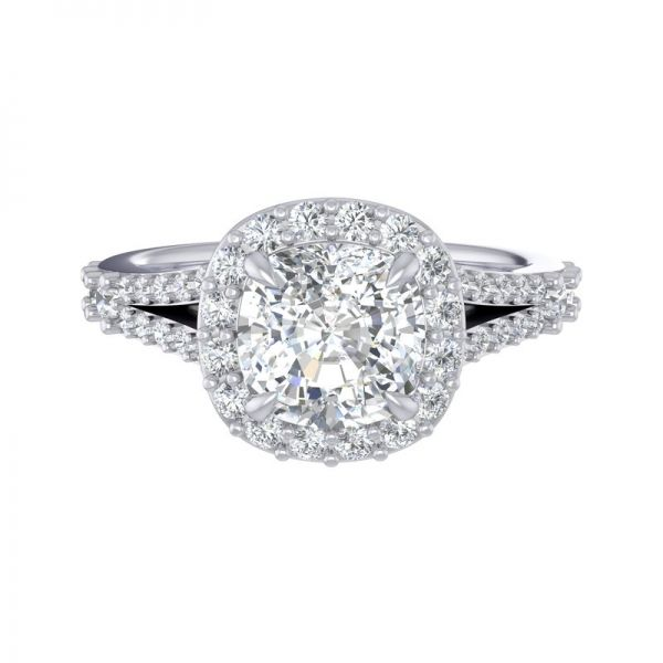 Next Generation Halo Engagement Ring Image 2  ,