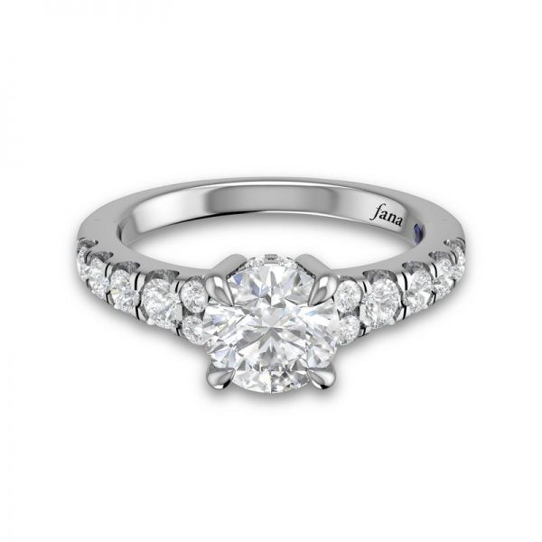 Next Generation Cathedral Engagement Ring Image 3 Skaneateles Jewelry Skaneateles, NY