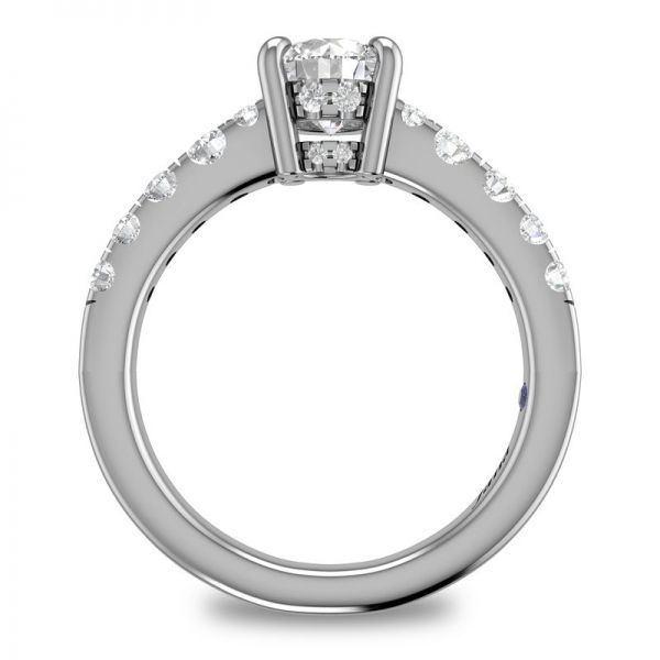 Next Generation Cathedral Engagement Ring Image 4 Skaneateles Jewelry Skaneateles, NY