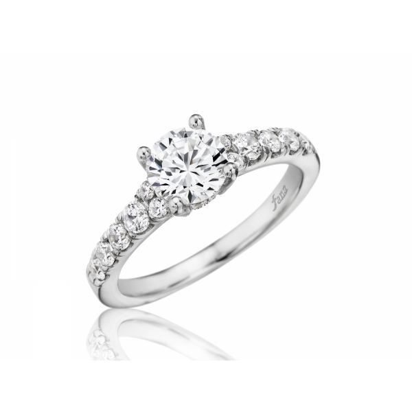 Next Generation Cathedral Engagement Ring Skaneateles Jewelry Skaneateles, NY