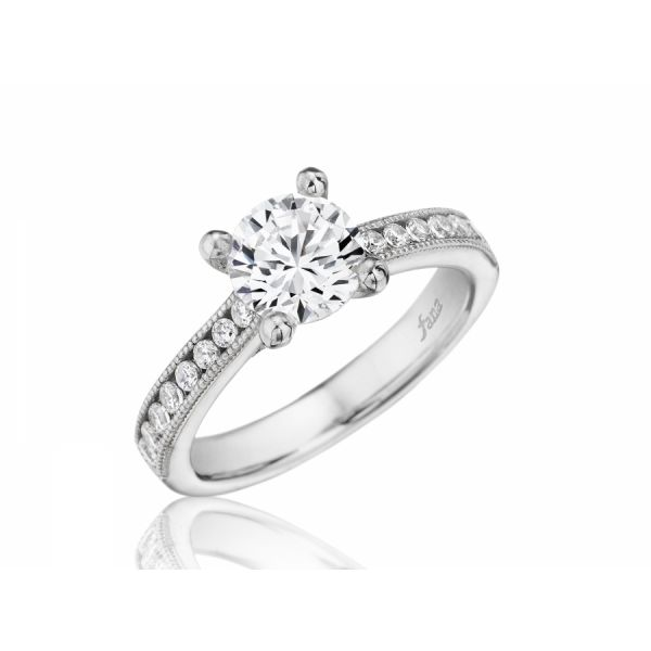 Next Generation Channel Set Engagement Ring Skaneateles Jewelry Skaneateles, NY