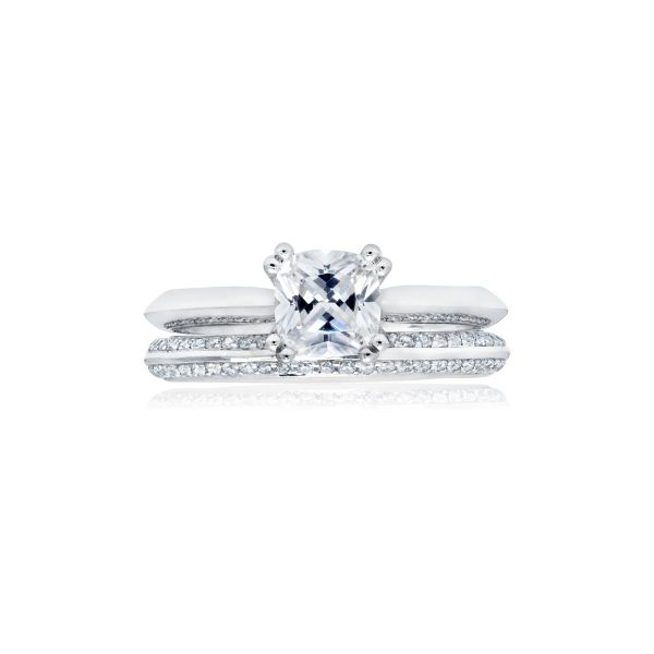 Next Generation Double Prong Engagement Ring Skaneateles Jewelry Skaneateles, NY
