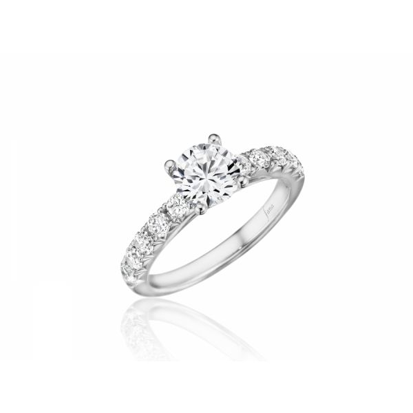 Next Generation Petite Prong Engagement Ring Skaneateles Jewelry Skaneateles, NY