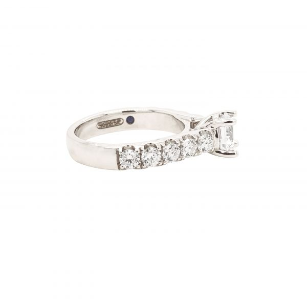 Next Generation Cathedral Diamond Engagement Ring Image 3  ,