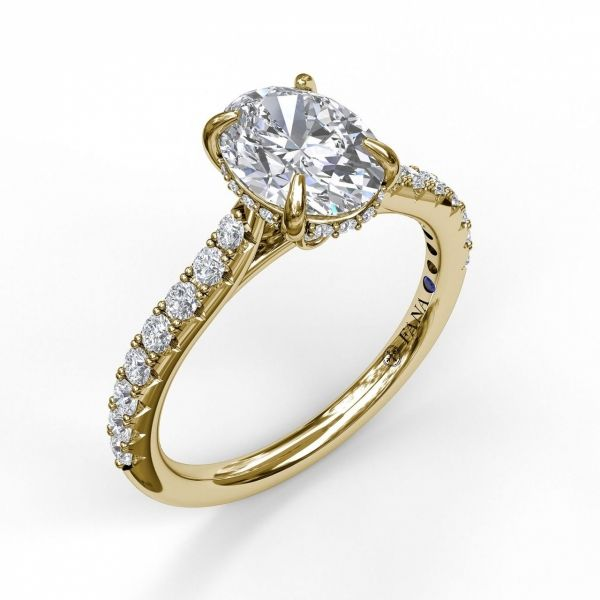 Next Generation Cathedral Diamond Engagement Ring Skaneateles Jewelry Skaneateles, NY