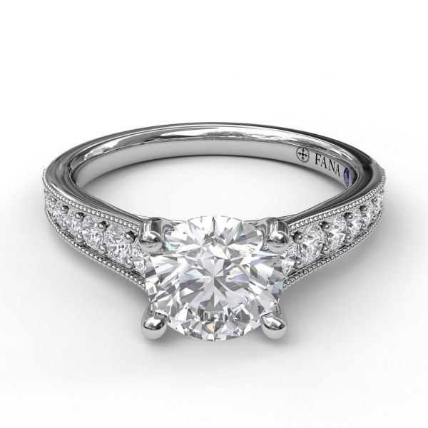 Next Generation Diamond Engagement Ring Image 2  ,
