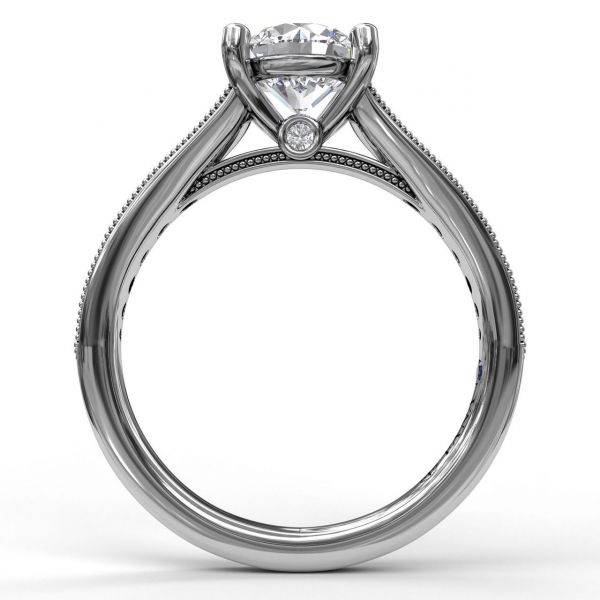 Next Generation Diamond Engagement Ring Image 3  ,