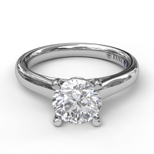 Next Generation Diamond Solitaire Engagement Ring Image 2 Skaneateles Jewelry Skaneateles, NY