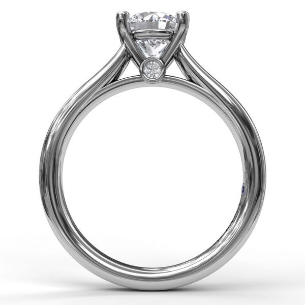 Next Generation Diamond Solitaire Engagement Ring Image 3 Skaneateles Jewelry Skaneateles, NY