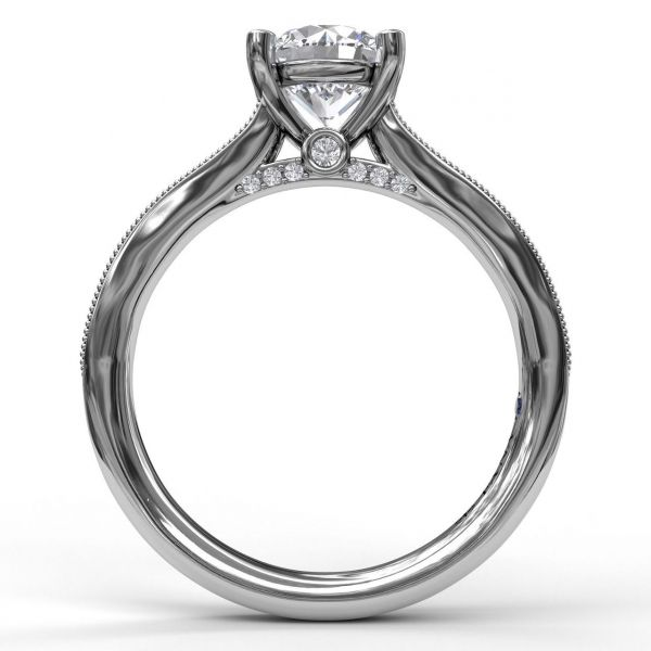 Next Generation Channel Set Engagement Ring Image 3  ,