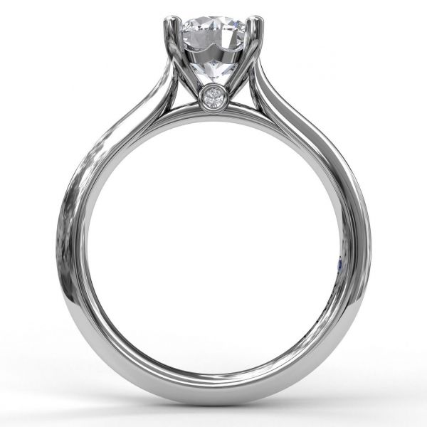 Next Generation Double Prong Engagement Ring Image 3 Skaneateles Jewelry Skaneateles, NY