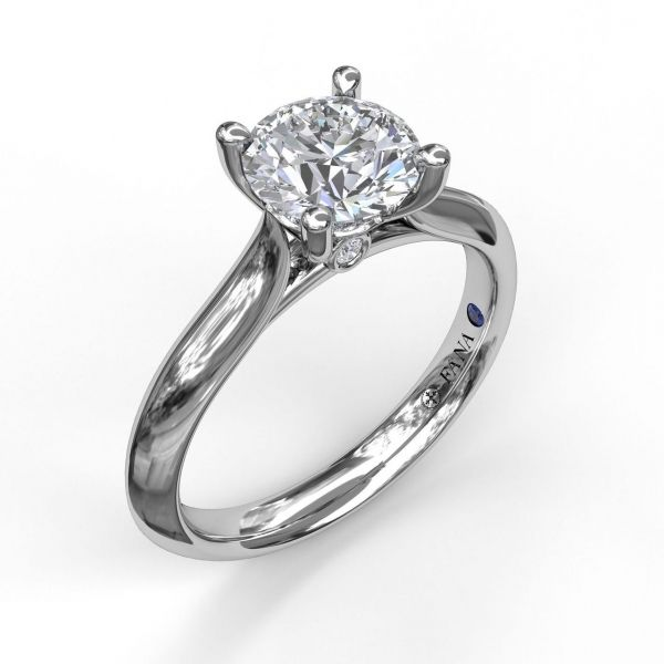 Next Generation Double Prong Engagement Ring Image 4 Skaneateles Jewelry Skaneateles, NY